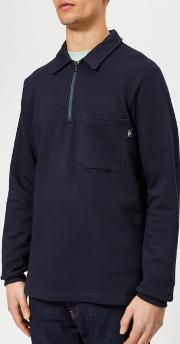 Men's Regular Fit Half Zip Sweatshirt