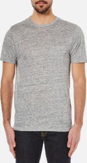 Men's Owen Crew Neck T Shirt Light Heather