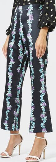 Women's Rocky Flared Cropped Trousers