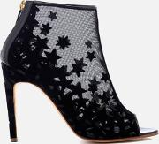 Women's Nebula Star Mesh Heeled Shoe Boots