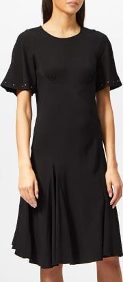 See By Chloe Women's Crepe Studded Dress