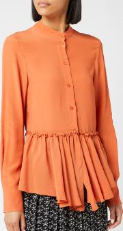 See By Chloe Women's Frill Bottom Blouse
