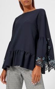See By Chloe Women's Lace Blouse
