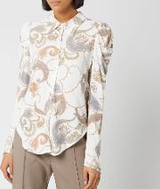 See By Chloe Women's Paisley Print Blouse