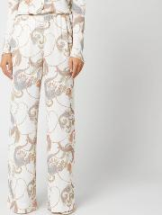 See By Chloe Women's Paisley Print Detail Trousers