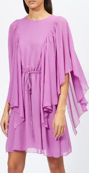 See By Chloe Women's Textured Frill Detail Dress