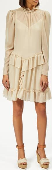 See By Chloe Women's Textured Frill Dress