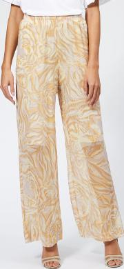 See By Chloe Women's Tiger Camouflage Trousers