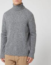 Men's Roll Neck Knit