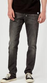 Men's Embellished Denim Jeans