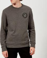 Men's Round Logo Sweatshirt