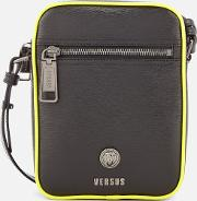 Men's Neon Detail Cross Body Bag