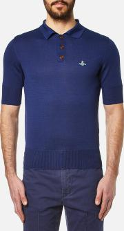 Men's Classic Knitted Polo Shirt