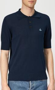 Men's Classic Knit Polo Shirt