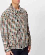 Men's Peasant Check Savana Bomber Jacket