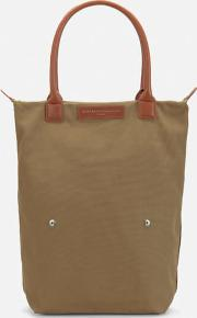 Orly Roll Tote Bag Beige