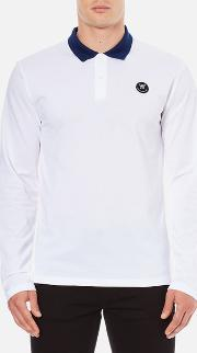 Men's George Long Sleeve Polo Shirt Bright