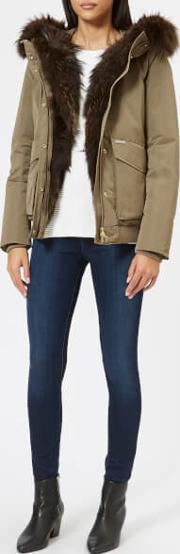 Women's Military Bomber Coat