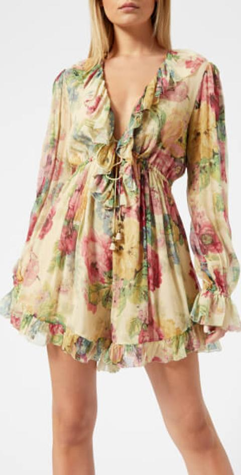 8f1bf9b1c9 Women s Melody Floating Playsuit Taupe Floral. Follow zimmermann Follow  coggles