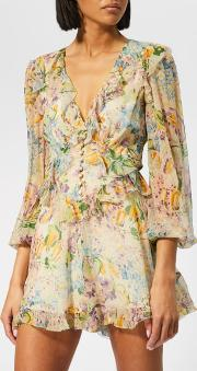 Women's Ninety-six Flutter Playsuit