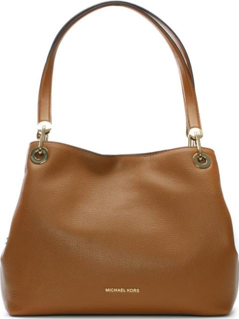 b046a1ab958 michael kors Raven Large Acorn Leather Shoulder Bag   Obsessory