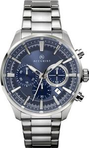 Mens Silver Chronograph Watch 7193