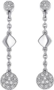 Pave Drop Earring Created With Swarovski Crystals