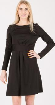 Black Belt Look Detail Dress