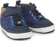 Baby Boys Navy High Tops