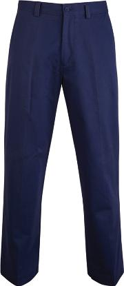 Big And Tall Navy Straight Leg Chino Trousers