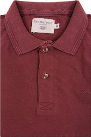 Red Knot Cotton Polo Shirt