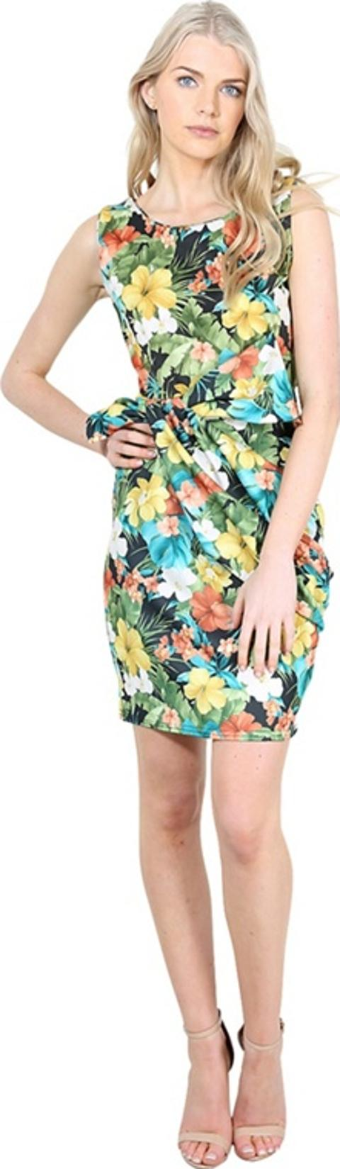 32ada155 Shop Floral Printed Bodycon Dress for Women - Obsessory