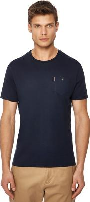 Big And Tall Navy Chest Pocket T Shirt