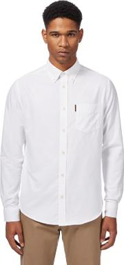 Big And Tall White Oxford Shirt