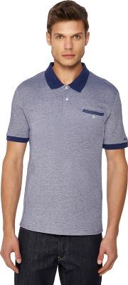 Blue Tonic Oxford Polo Shirt