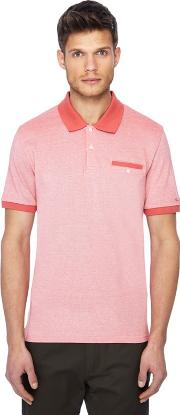 Pink Tonic Oxford Polo Shirt