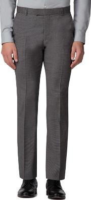 Salt And Pepper Micro Slim Fit Trousers