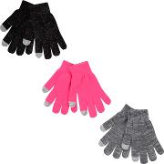 Bluezoo 3 Pack Childrens Assorted Magic Gloves