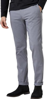 1904 Rothwell Grey Slim Fit Chinos