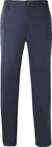 Navy Slim Fit Stretch Chinos