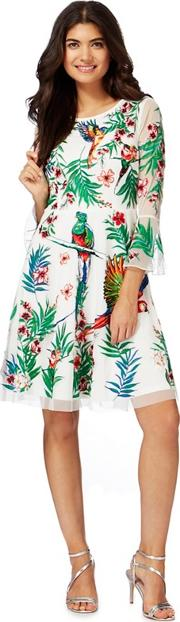 White Paradise Embroidered Dress