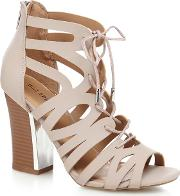 715ea266eb5 Shop Block Heel Gladiator Sandals for Women - Obsessory
