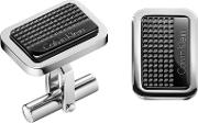 Silver And Black confidence Cufflinks