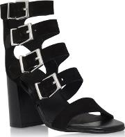 Black kanada High Heel Sandal