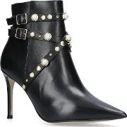 Granite High Heel Ankle Boots