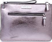 Pewter roxy Zip Pouch Pouch