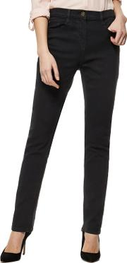 The Collection Black Straight Leg Jeans