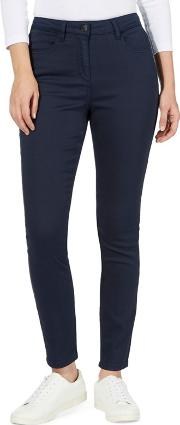 The Collection Navy Slim Fit Jeggings