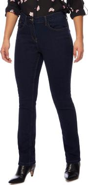 The Collection Petite Blue Straight Leg Petite Jeans