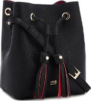 Black lisa Tassel Duffle Bag